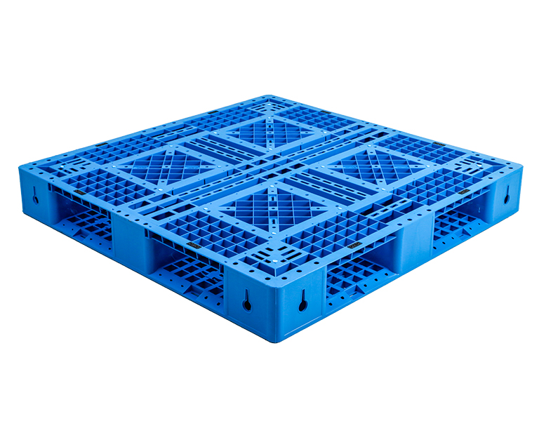 open bottom deck plastic pallet