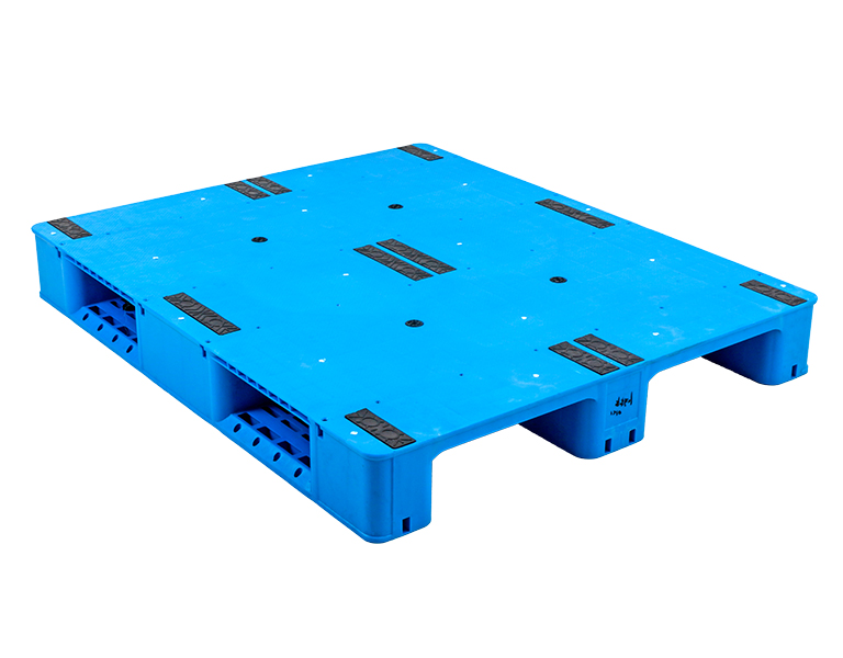XSZS-1210P 1200*1000*150mm heavy weight flat shape 3 runners plastic pallet