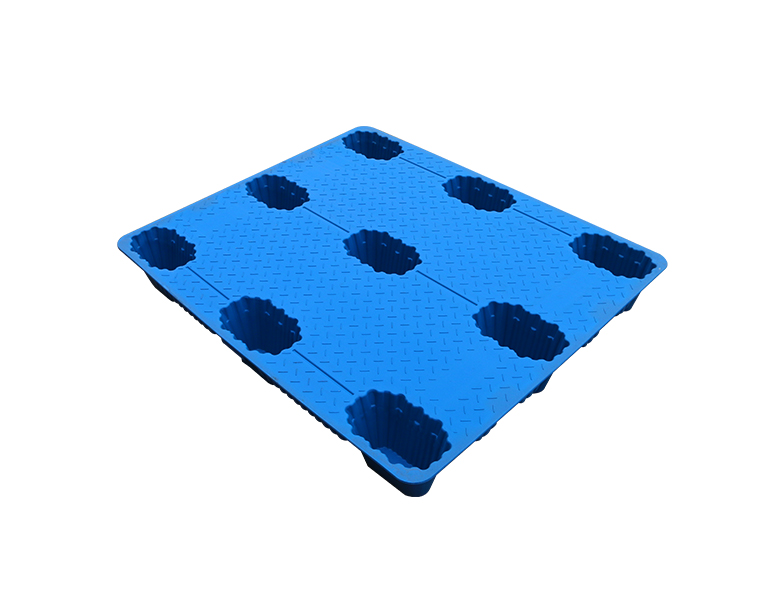 Low price nine legs plastic pallet