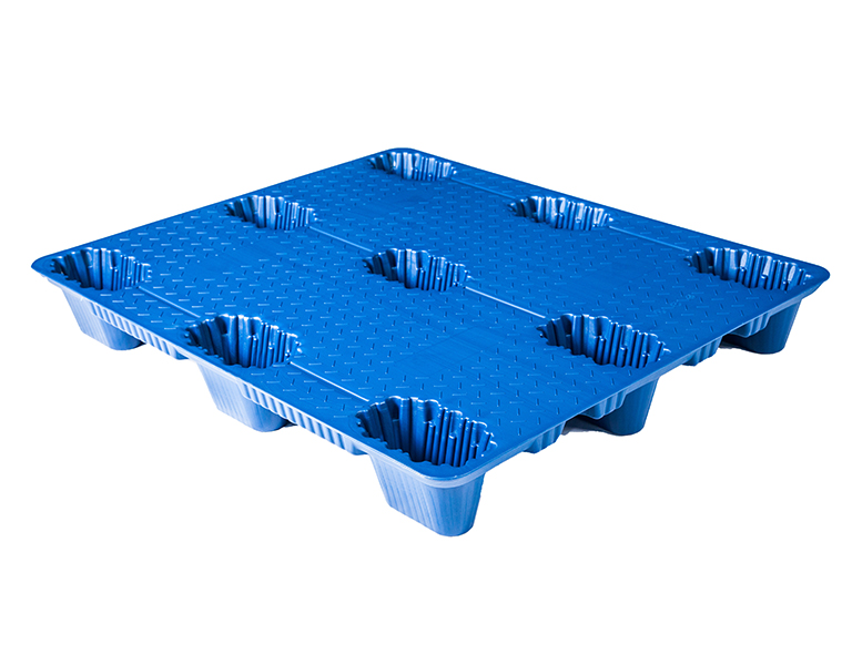 1210plastic transport pallet light duty blow mould plastic pallet