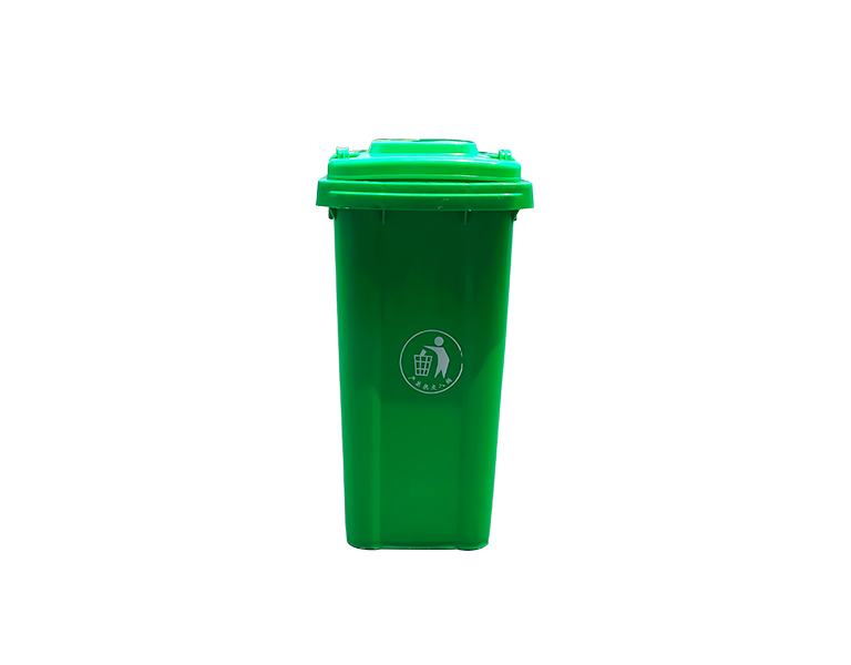 High quality Outdoor UV Resistance publish garbage container with 2 wheels