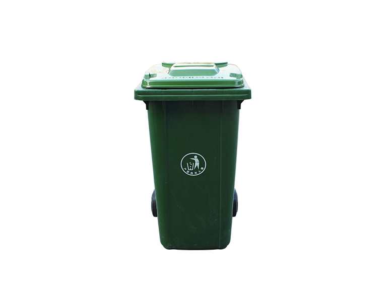 240Wholesale 2 wheels HDPE outdoor plastic dustbin, Garbage container
