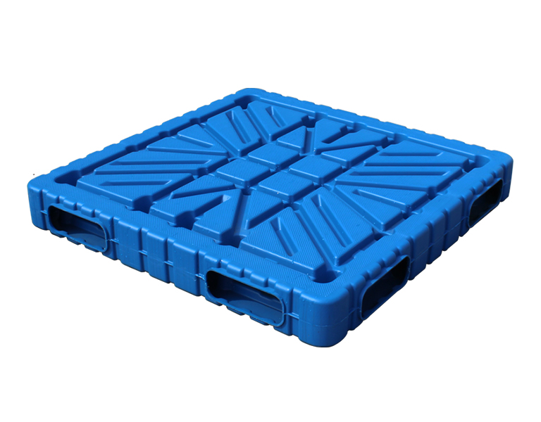 1111Food grade blow molding plastic pallet for block making machine