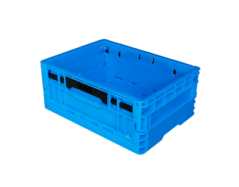 400-170 100%PP Material Plastic foldable crate plastic storage box with lid