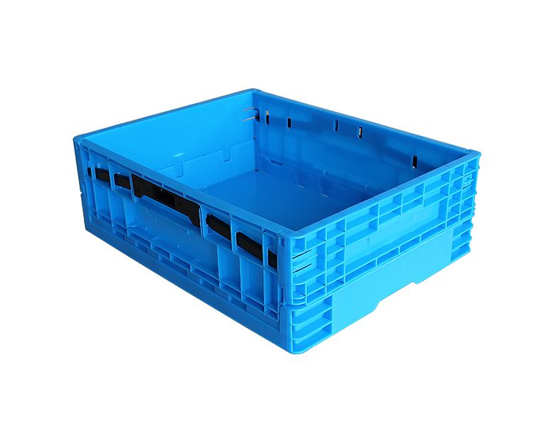 500-170 Folding Plastic Stackable Utility Storage Box For Food Storage