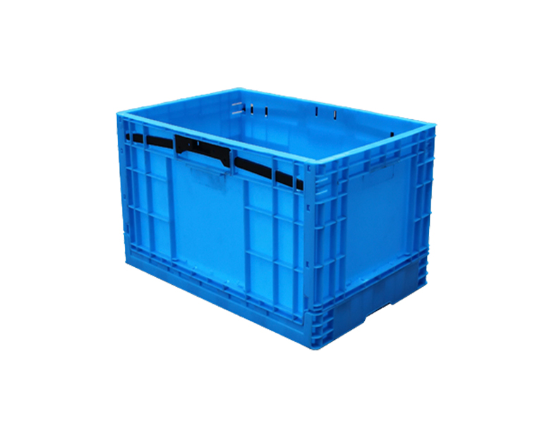 600-450 Foldable Stackable Perforated Sides Storage Crate