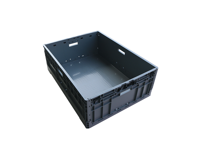 EUO-8628 home and office organization use folding crate plastic storage box/bin