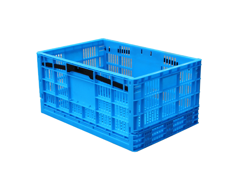 600-290 Hot Sale Durable Folding Plastic Stackable Utility Basket