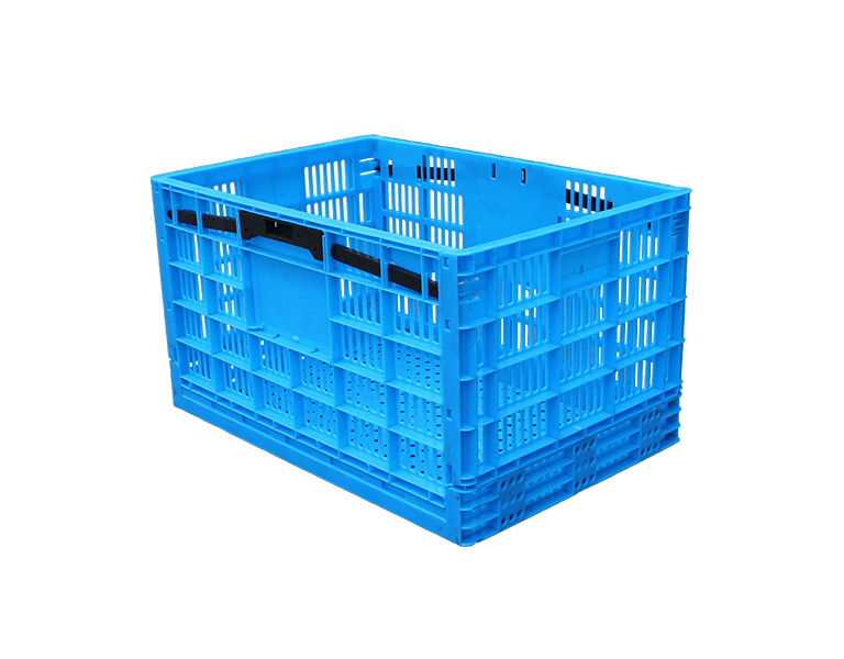 600-340 Collapsible Storage Bins - Durable Folding Plastic Stackable Utility Basket