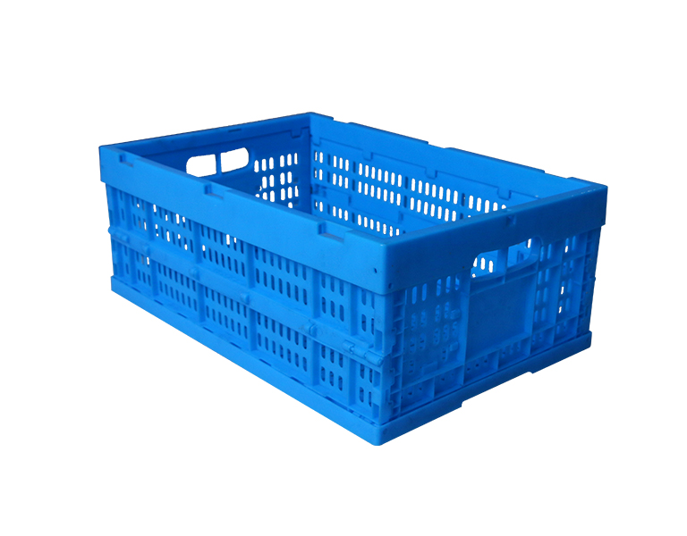 600-240 Cheap Collapsible and foldable plastic storage basket for vegetable and fruit use