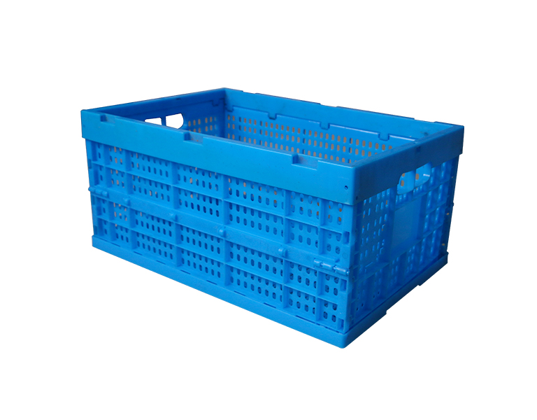 600-280 Wholesale save 75% space pp plastic cheap folding basket for home storage