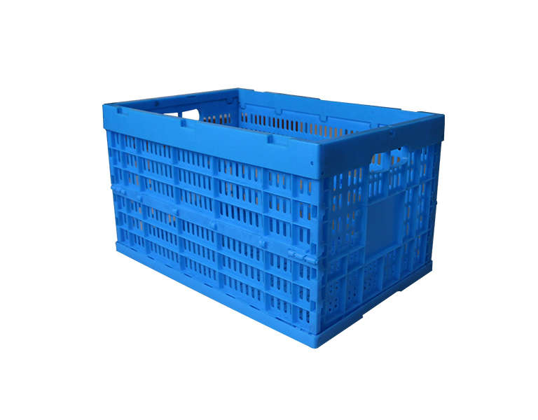 600-340 Wholesale clear save 75% space pp plastic cheap folding basket