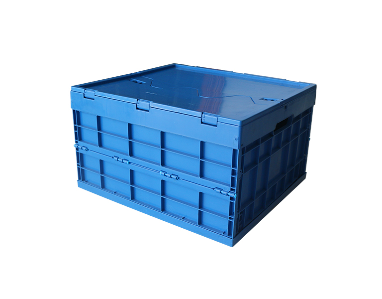 520-300 Food grade clothes and toy storage plastic folding storage box