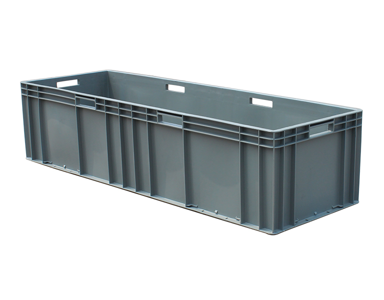 EU41228 Good quality EU standard plastic turnover box for industrial use
