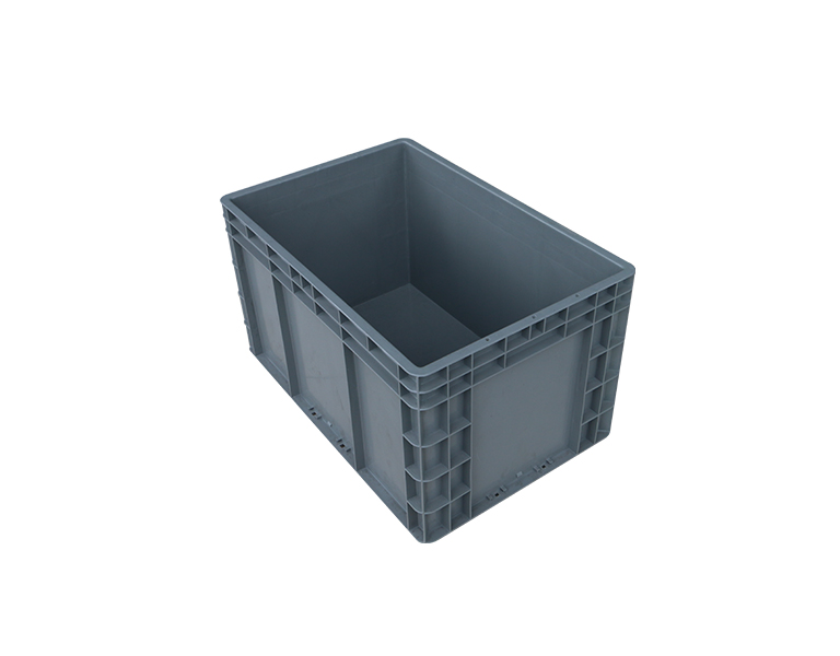 EU4633 Cheap and good quality EU standard plastic turnover box for industrial use