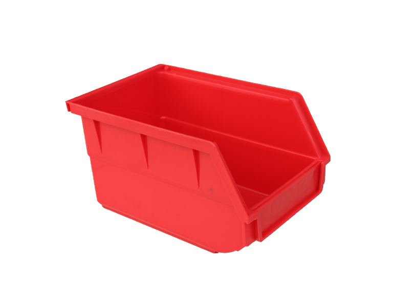 B4 Industrial stackable warehouse plastic parts bin
