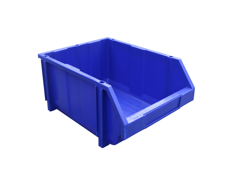 A6 Warehouse stackable back hanging plastic bin