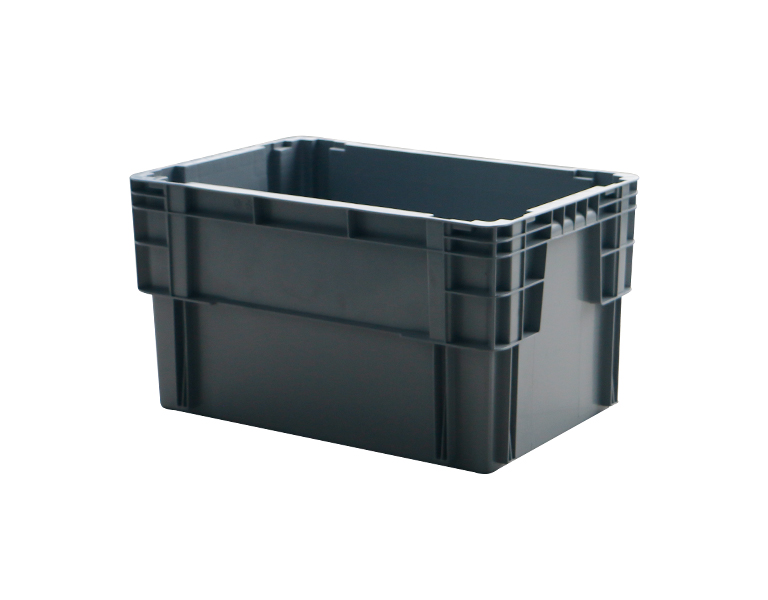 600-280 Plastic turnover box for warehouse refrigerated storage