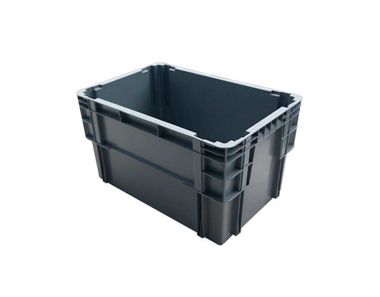 600-340 Industrial stackable plastic turnover box