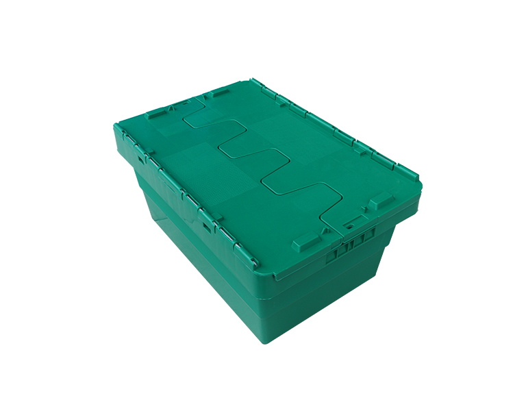 500-225 PP Material No Foldable Plastic Moving Crate Turnover Box