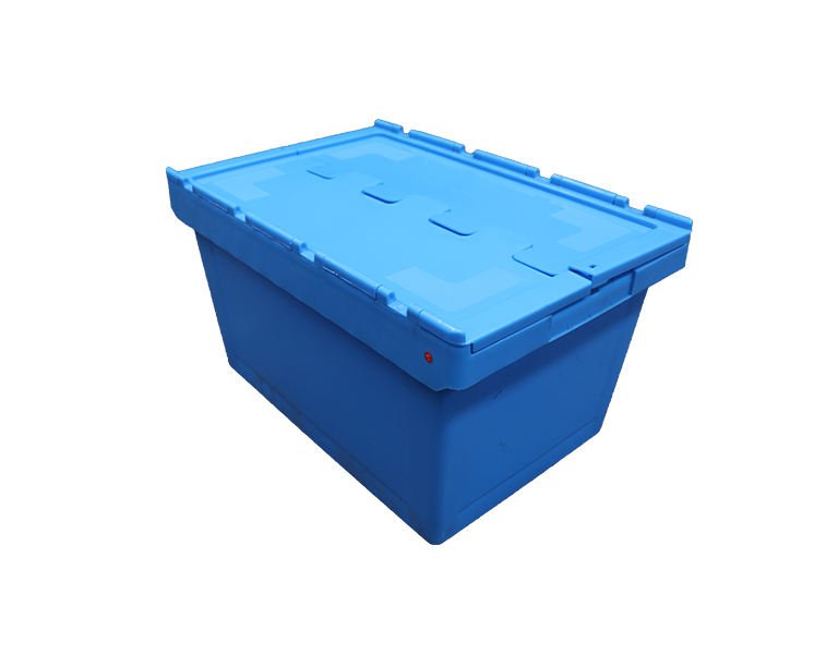 600-260 Hard warehouse and logistics plastic totes stackable plastic moving box