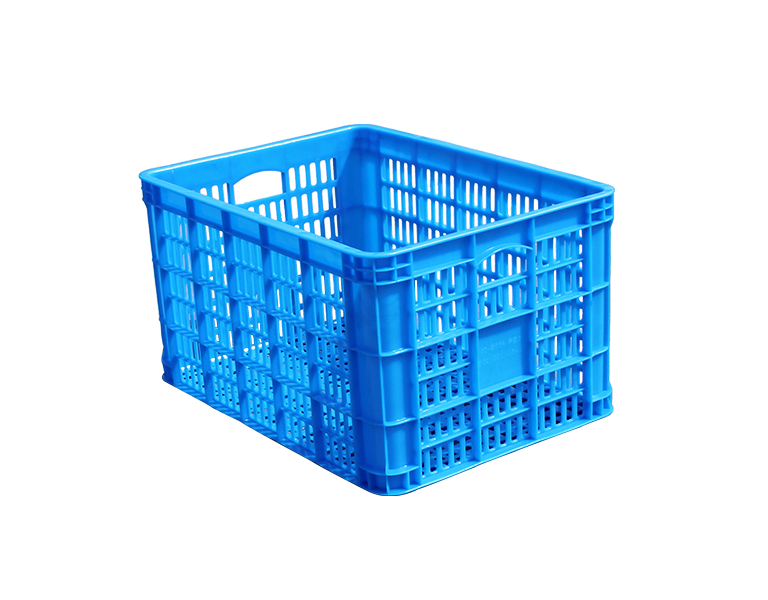 455 Food and fruit plastic turnover basket