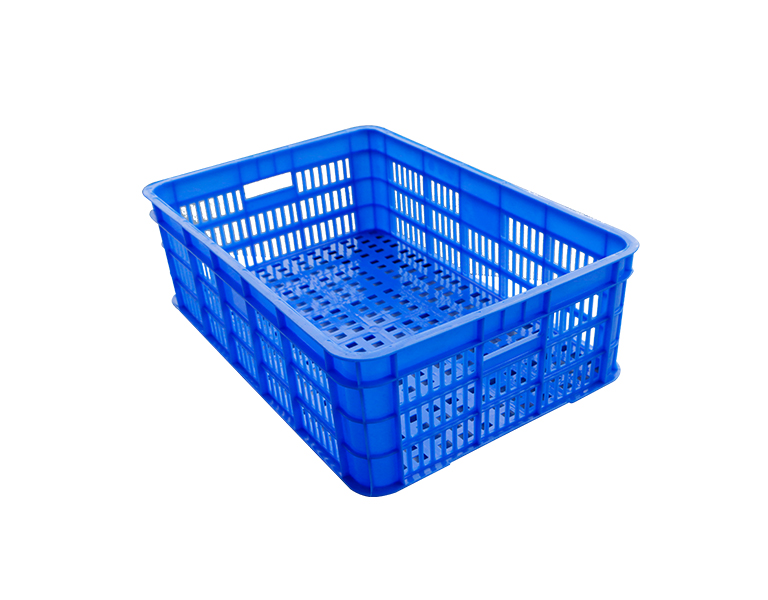 575-180 Large capacity colorful plastic turnover basket
