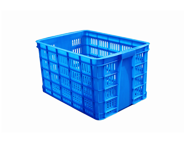 580 Supermarket plastic basket turnover plastic storage basket