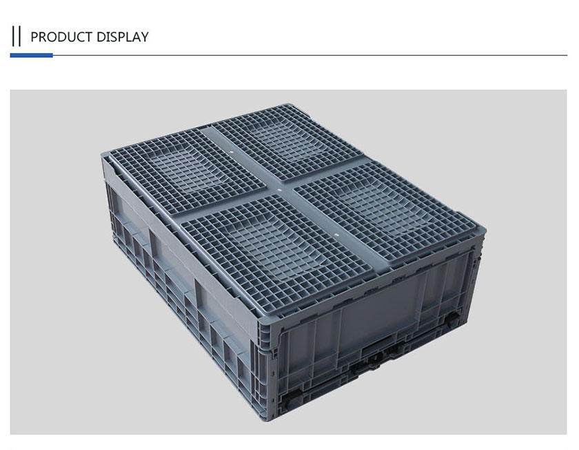 High quality foldable Plastic crate for home and office organization